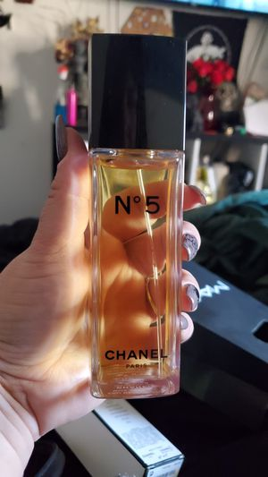 Chanel no 5 perfume. Brand new, received as a gift. The bottle is $105, selling for $55. Christmas is around the corner! for Sale in Ramona, CA