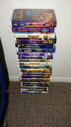 VHS DISNEY MOVIES for Sale in Phoenix, AZ