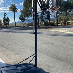 Basketball Hoop Perfect Condition Like New 10 Ft for Sale in Rancho Cucamonga, CA