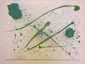 Offspringh - abstract painting art 3'x4' for Sale in East Orange, NJ