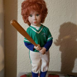 Vintage Slugger 10 Doll With Stand for Sale in Houston, TX