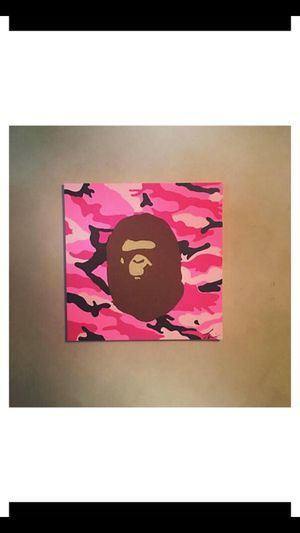 Bape Street Art for Sale in San Francisco, CA