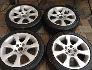 bmw oem rims 17 tires 225 45 17 for Sale in Manassas, VA