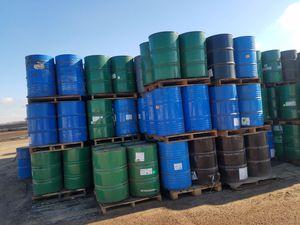 55 gal metal drums food grade for Sale in Sanger, CA
