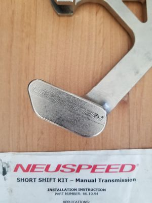 Neuspeed short shifter (manual trans) part #: 66.10.94 for Sale in Voorhees Township, NJ