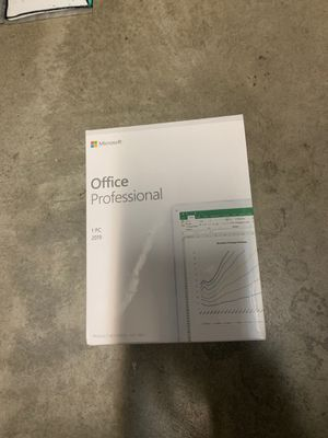 Eurozone Microsoft Office professional 2019 - 1 PC Ireland for Sale in Industry, CA