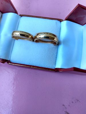 14k gold wedding set for Sale in Modesto, CA