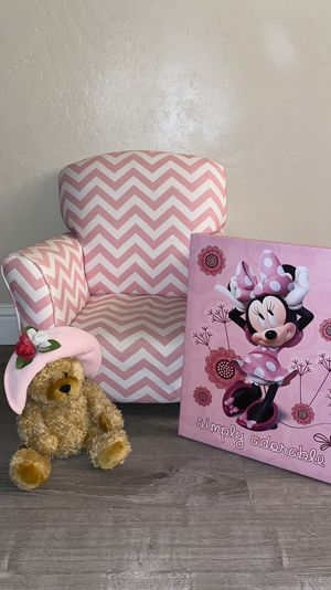 Small Pink Rocking Chair Set for Sale in Fresno, CA