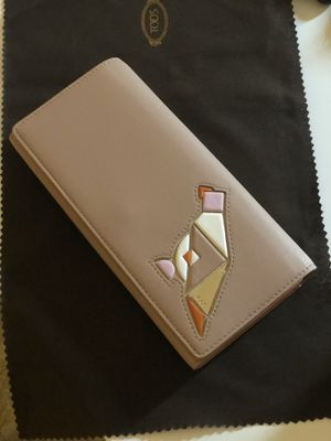 TOD's Leather Wallet for Sale in Santa Cruz, CA