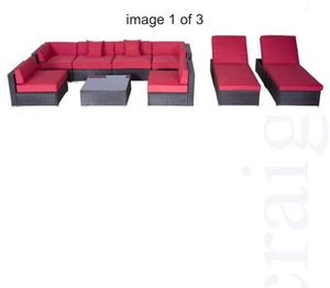 9 Piece Outdoor Patio Furniture for Sale in Parma, OH
