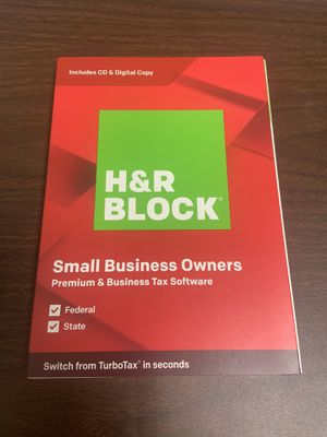 H&R Block Small Bussiness Owners 2019 for Sale in Rancho Cordova, CA