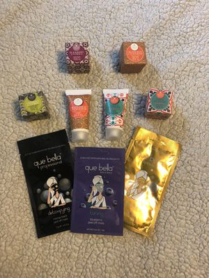 Face mask, hand soap and lotion bundle for Sale in Visalia, CA