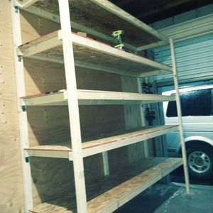 Pre-made 6 foot x 8 foot shelves for Sale in Arcadia, CA