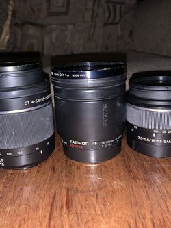 Lenses For Sony Cameras for Sale in Campbell,  CA