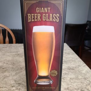 Happy Hour Giant Beer Glass Stein 53 oz by Original Fun Workshop Oversize Gift for Sale in Anaheim, CA