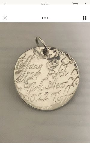 Tiffany & Co. Silver Vintage Charm for Sale in Chicago, IL