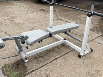 Bench Press And Squat Rack for Sale in Dallas,  TX