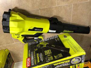 Ryobi 40v brushless jet fan blower (only tool) for Sale in Dallas, TX