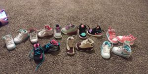 Infant girl shoes size 4c 5c for Sale in Kansas City, MO
