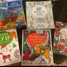 New Activity Books And Puzzle Book All For $4 for Sale in Fontana, CA
