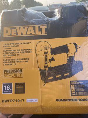 Dewalt nail gun for Sale in Cleveland, OH