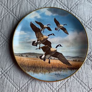 Wildlife artist, Maas, Limited Edition Plates. BROWN & BIGELOW 1978 – Collector's Edition. Set Of 2. for Sale in Aliso Viejo, CA