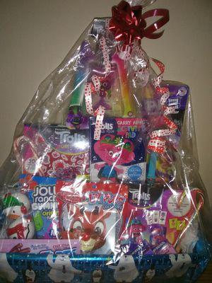 Trolls Holiday Gift Basket for Sale in Queen Creek, AZ