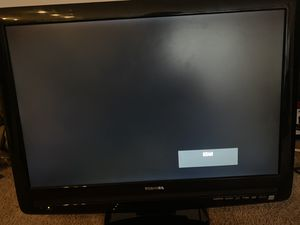 22 inch toshiba TV or gaming monitor with built in DVD player for Sale in Arlington, VA