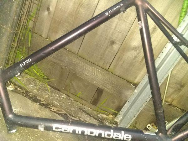 Cannondale bike frame