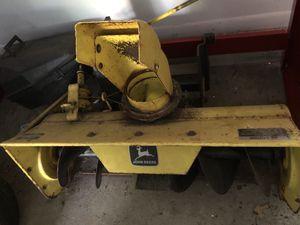 John Deere 210 Snow Blower and 42' Deck for Sale in Galesburg, MI