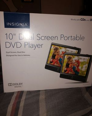 Dual screen portable DVD player for Sale in Cypress, CA