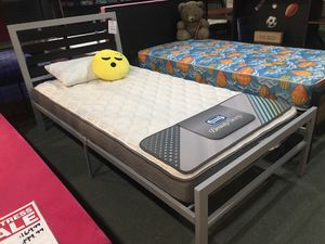 Twin Bed Frame. Mattress not included for Sale in Norwalk, CA