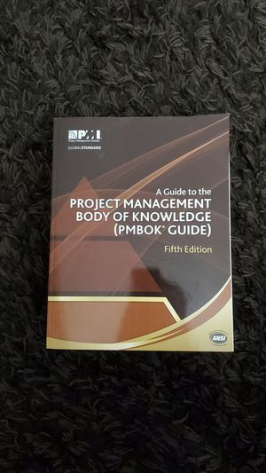Project Management Body of Knowledge (PMBOK) Guide Fifth Edition for Sale in Phoenix, AZ