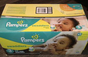 Pampers swaddlers (size 3) for Sale in Austin, TX