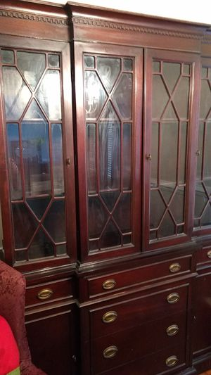 Antique Mahogany China Cabinet for Sale in Angier, NC