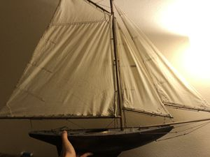 Decorative Sail Boat for Sale in San Clemente, CA