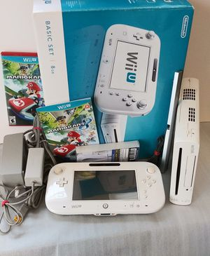 Nintendo Wii U With MarioKart Game Works Great for Sale in San Diego, CA