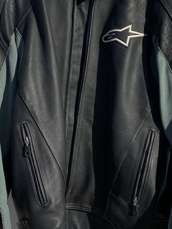 AlpineStars Leather Jacket With Protection for Sale in Fountain Valley,  CA