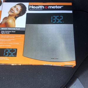 Health o Meter Stainless Steel Weight Tracking Scale for Sale in La Mesa, CA