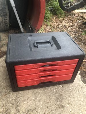Craftsman tool box with tools for Sale in Mount Rainier, MD