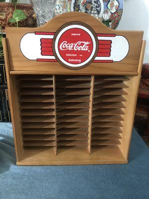 Beautiful coca Cola cd holder for Sale in Riverside, CA