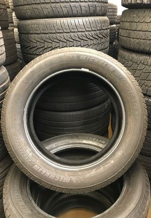 Pair of 255/55 R20 Michelin's for $200 for Sale in Fort McDowell, AZ
