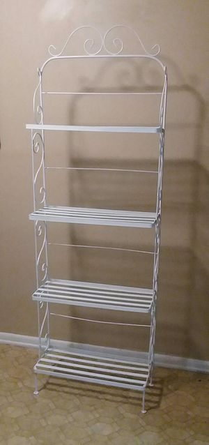 (Heavy Duty) Tall/Wrought iron Rack/Stand (Excellent Used Condition) for Sale in Center Point, AL