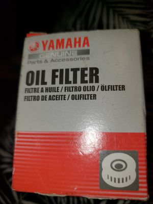 Yamaha Motorcycle Oil Filter for Sale in Miramar, FL