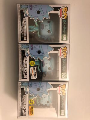 Rick funko pops for Sale in OH, US
