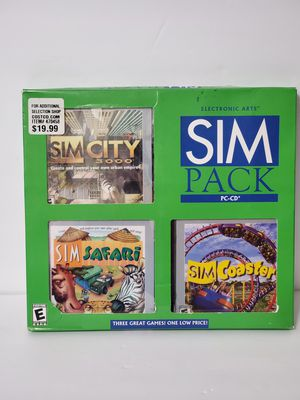 Vintage Sim pc games for Sale in Tacoma, WA