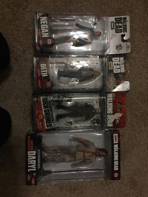 Walking dead action figures for Sale in Fresno, CA