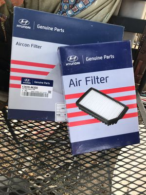 Two filters unused for Sale in Rancho Linch, MX