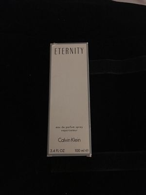 Eternity Calvin Klein 3.4 for oz for Sale in Oxon Hill, MD