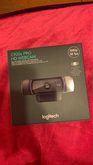 Logitech C920s Pro HD Webcam for Sale in Houston, TX